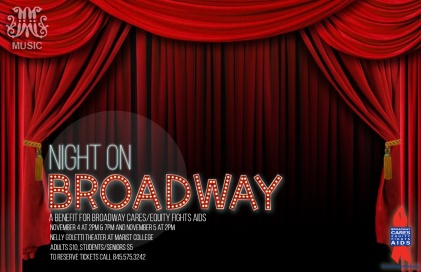 Night on Broadway poster 2017