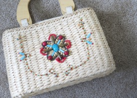 Beaded Woven Purse